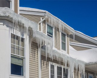 Roof Repairs & Inspections Walled Lake Michigan - Spencer Roofing - ice1